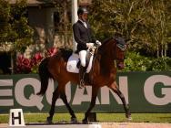 TRUHANA DE YMAS Y PAU GOMEZ EN LA FINAL YOUNG HORSE DRESSAGE NATIONAL CHAMPIONSHIPS USEDF